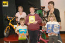Prize winners of reading competition, Linden Grove, Kent Primary School, July 2007 (Kent Messenger Newspaper Credits)