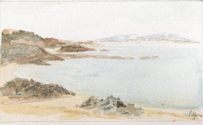 One of my watercolours