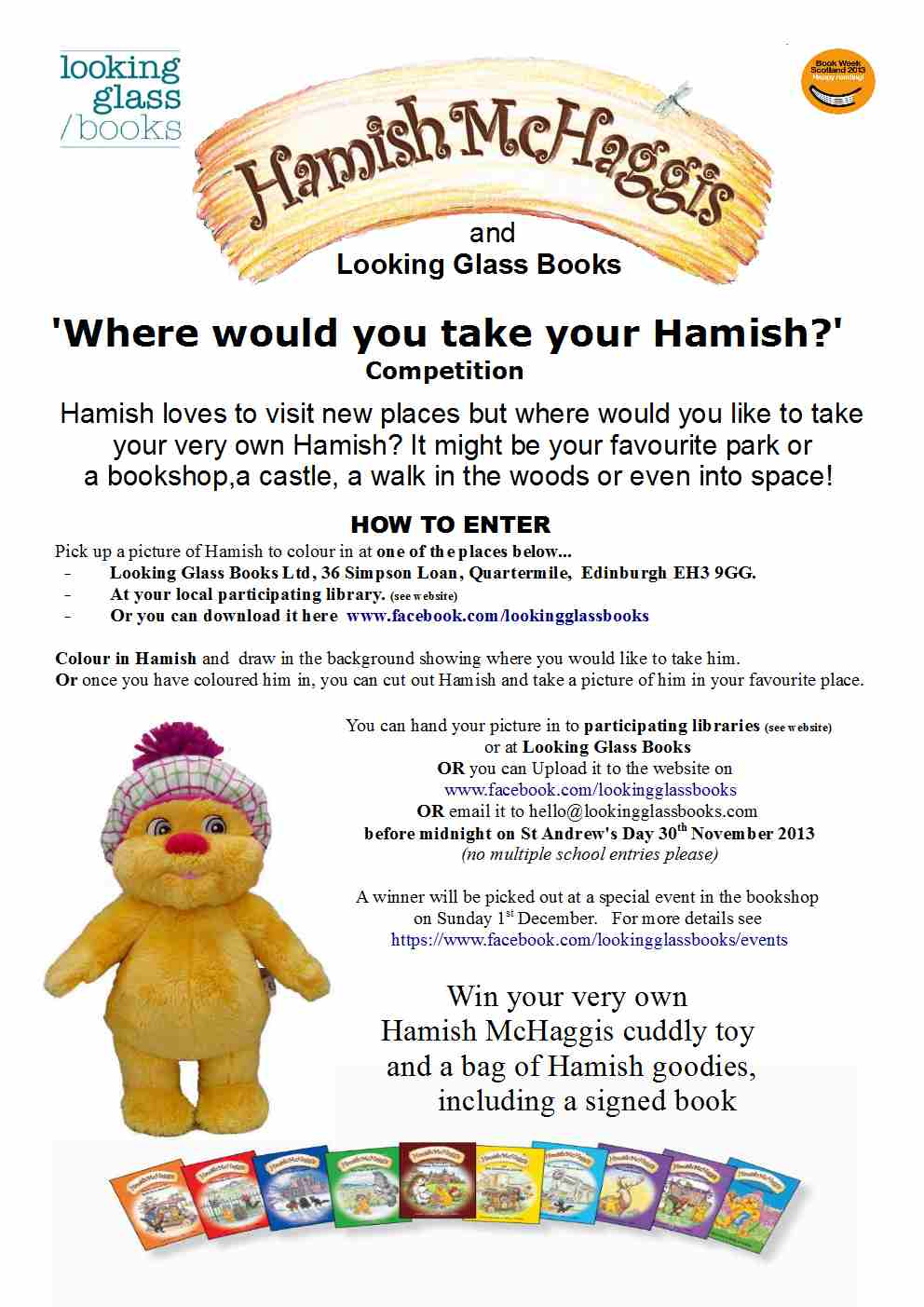 Hamish Competition poster 1