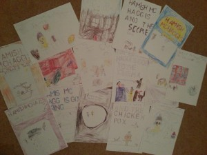 hamish books from Lundin Mill  PS